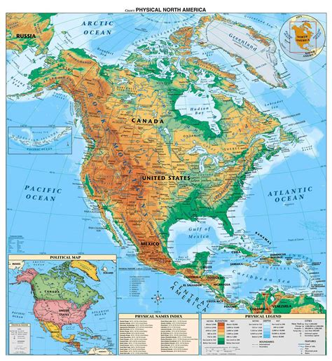 america map detailed maps of america and american countries