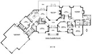 large luxury ranch home plans home design and style
