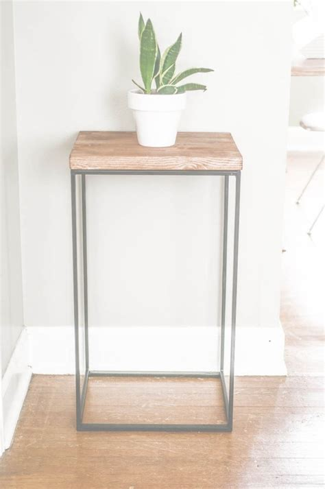 ikea table diy diy idea make a side table out of an ikea her man