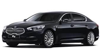 new kia luxury car kia k9 luxury sedan revealed geneva motor show debut