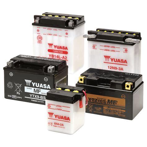 Motorrad Batterie Gewicht by Yuasa S Guide To Bike Batteries