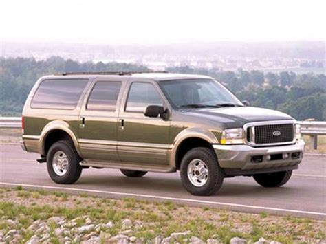 2002 ford excursion pricing ratings reviews kelley blue book