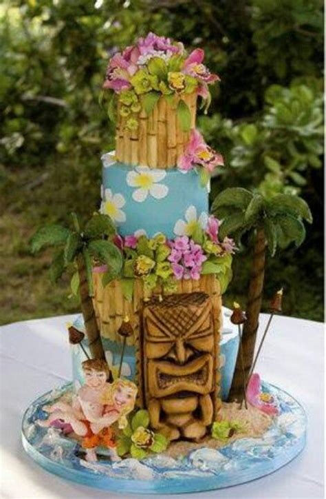 Sonoma Blue Gradation 17 best ideas about hawaiian wedding cakes on