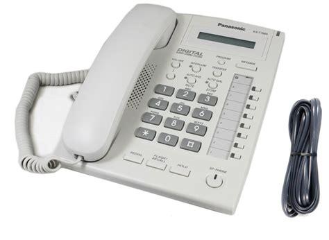 Panasonic Telepon Kx T7665 Putih panasonic kx t7665 business phone white kx t 7665 t7665al