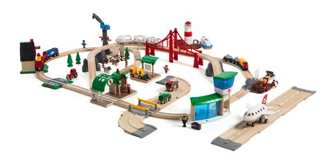 brio country railway set railway world deluxe set brio