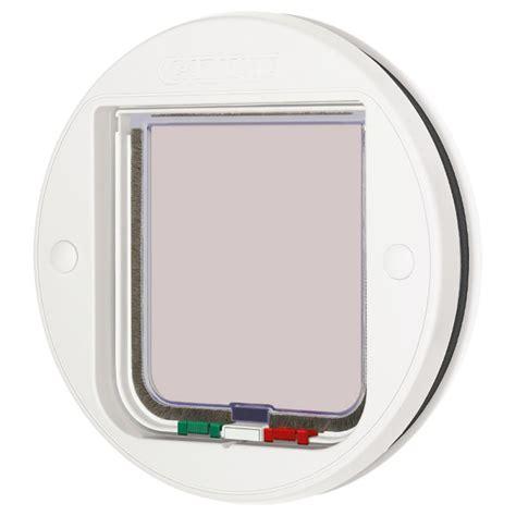 glass door cat flap great deals on cat flaps and doors at zooplus cat mate 4