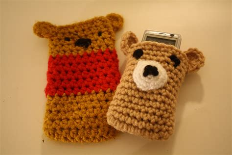 how to knit a cell phone crochet phone tutorial