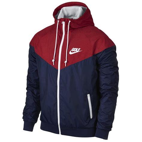 Jaket Parasut Running Windrunner Nike Navy nike mens windrunner jacket golfonline