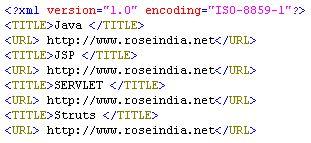 Xml Tutorial Roseindia | create xml file from flat file and data insert into database