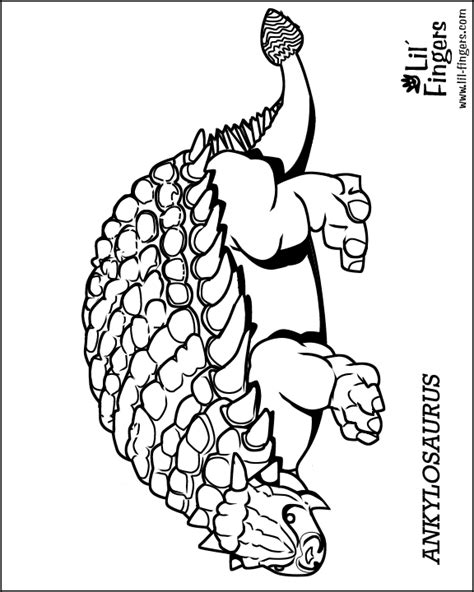 anklyosaurus coloring pages bones coloring pages
