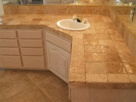 Bathroom Vanity Tile Ideas by Bahtroom Bathroom Tile Countertop Ideas And Buying Guide