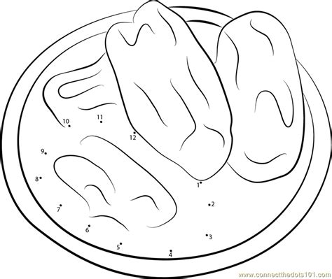 coloring book spotify date bowl of medjool dates dot to dot printable worksheet