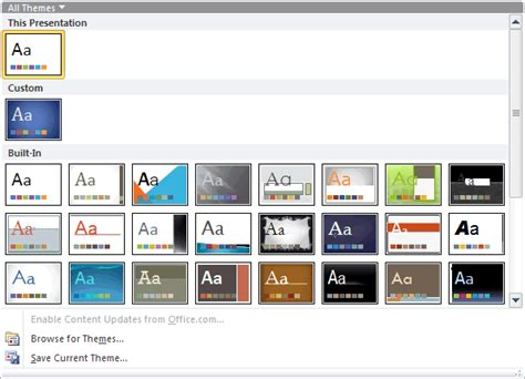 Themes For Presentations Powerpoint Images Themes Of Powerpoint 2010