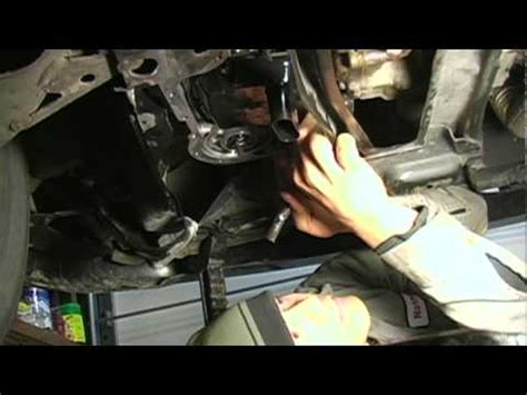 How To Change Filter And Fluid On The Transmission Of A