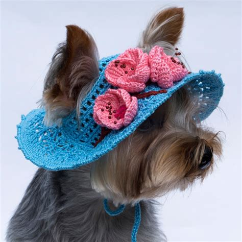 beanies for dogs hat for blossoms crochet hat beanie