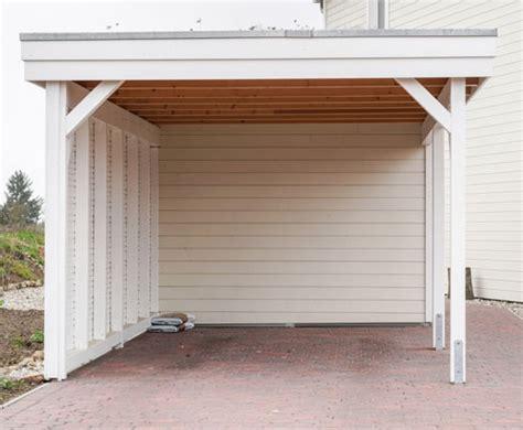 Carport Weiss Holz by Wichtige Informationen 252 Ber Carports Aus Holz Garten