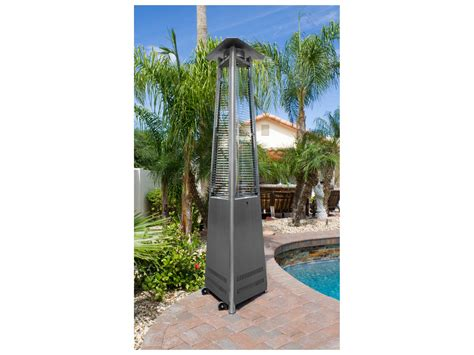 all pro patio heater 100 all pro patio heater ember glass commercial