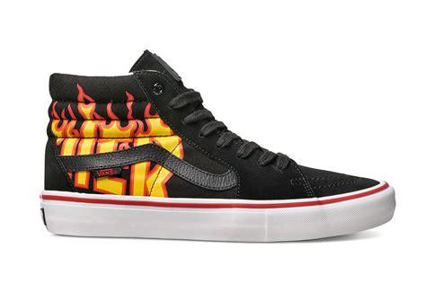 thrasher x vans logo sneaker collaboration release date footwear news