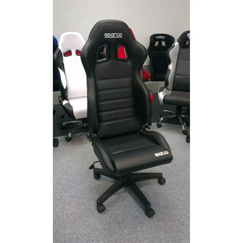 Racing Seat Office Chair by Sparco R100 Vinyl Racing Office Sports Seat Gsm Sport Seats