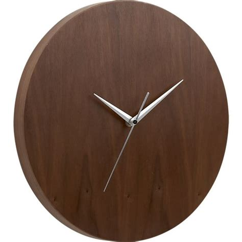 Kitchen Clocks walnut 13 quot wall clock