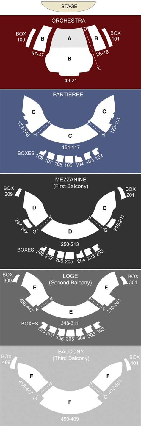 ellie caulkins opera house best seats ellie caulkins opera house denver co seating chart