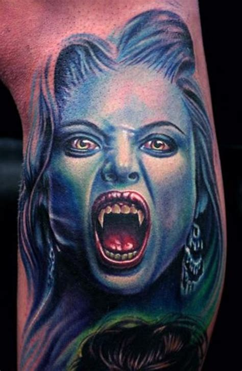 small scary tattoos 20 awesomely creepy horror designs
