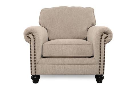 milari linen accent chair milari linen chair mathis brothers furniture