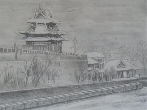imagenes para dibujar a lapiz paisajes dibujo a lapiz paisaje by zustitos on deviantart