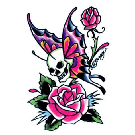 ed hardy pink tattoo pack tattoo kids