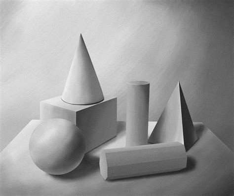 design art form geometry forms light and shadow study by raphaayala on