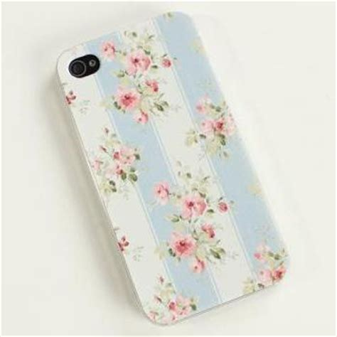 Iphone 4 4s Pastel Flower Lace Phone Cover Casing faux leather retro lace legging on luulla