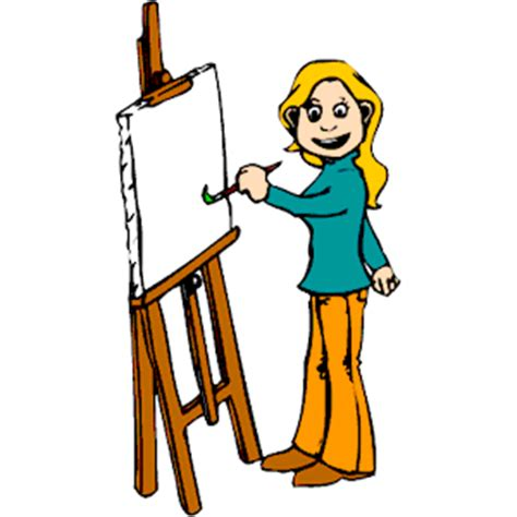 artists clipart cliparts painting free clip free clip