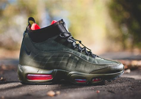 air max 95 boots nike transforms the air max 95 into a wintry sneakerboot