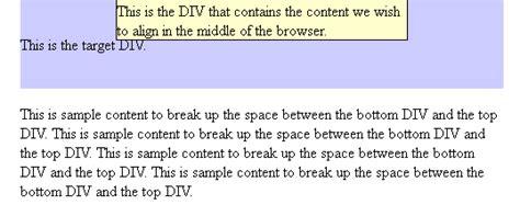 div horizontal align html div align center horizontal