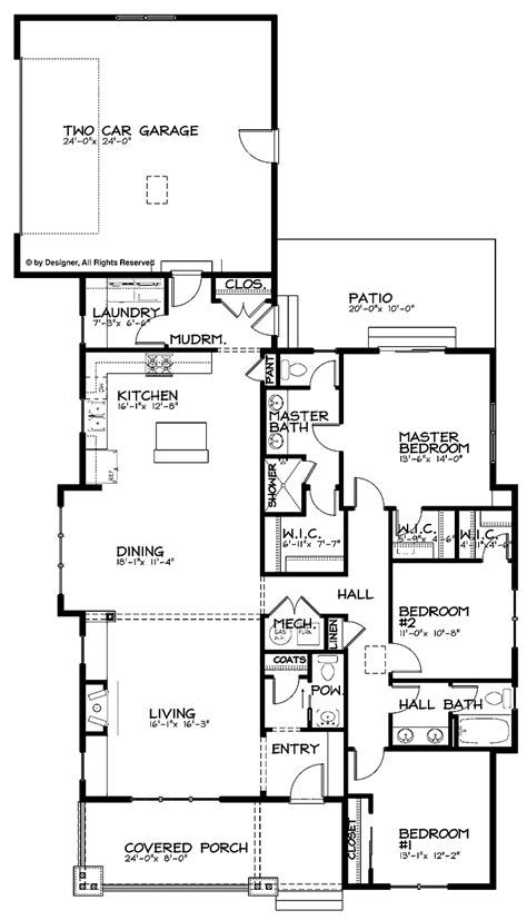 single storey bungalow floor plan single story bungalow house plans one story bungalow 1920