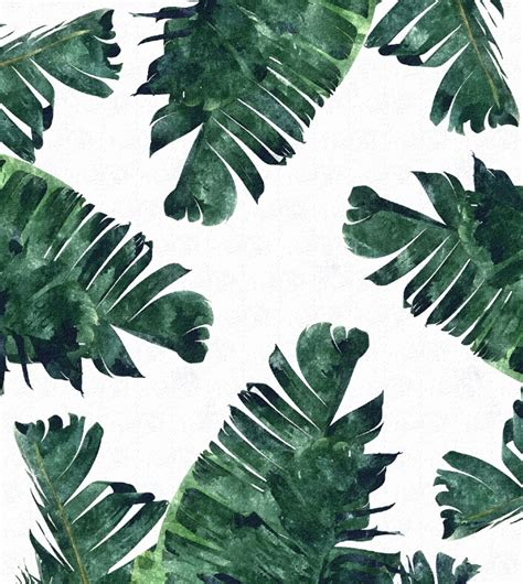 leaf pattern quotes banana leaf watercolor pattern banana leaves