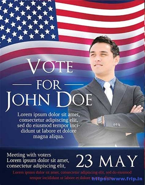 25 best political flyer print templates 2017 frip in