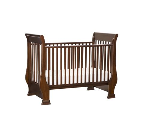 Sleigh Bed Crib Sleigh Fixed Gate Crib Pottery Barn
