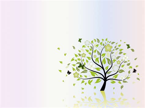 Folio Tree Nature Backgrounds Green Nature Templates Free Ppt Backgrounds And Powerpoint Slides Tree Template For Powerpoint