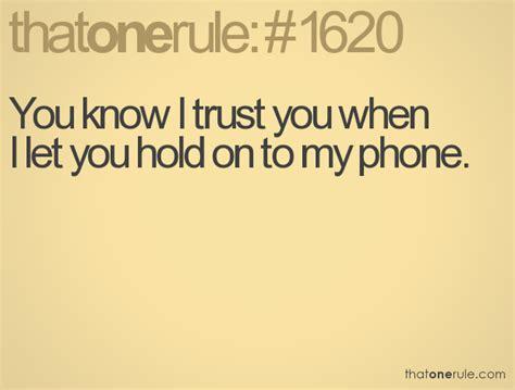 I Trust You if i trust you quotes quotesgram