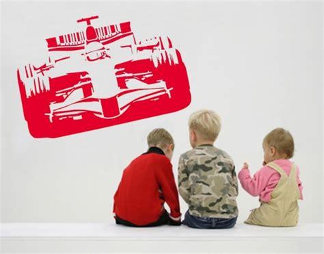 Wandtattoo Kinderzimmer Rennauto by Wandtattoo Formel 1 Rennauto Bei Universumsum De