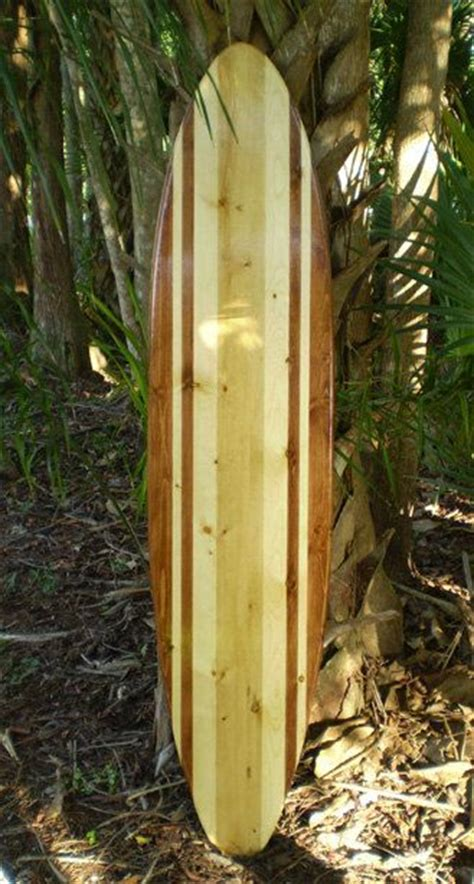 Wooden Surfboards For Decoration by Original Two Tone Classic Vintage Surfboard Wood