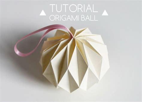 tutorial en origami tutorial bola de origami manualidades