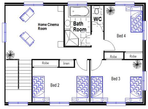 175 m2 narrow lot 4 bedroom house plans narrow home australian narrow lot 4 bed room house