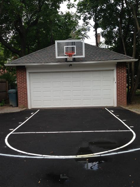 Basketball Backboard Garage Mount by This Photo Is Framed Just Right So You Can Get A Really