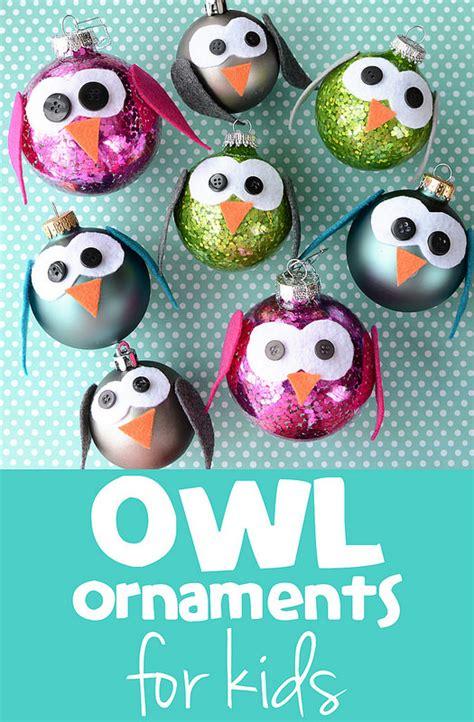diy owl ornaments tutorials diy owl ornaments for