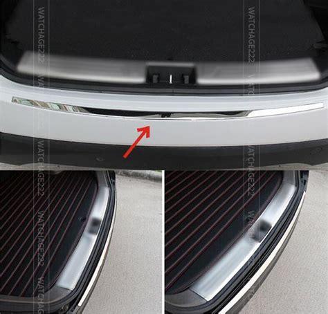 Rear Bumper Guard Sill Plate Belakang Hyundai H1 Fitt Thailand accessories fit for 2010 2015 hyundai tucson ix35 rear