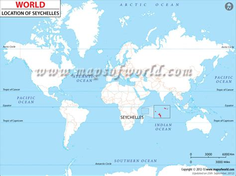 where is seychelles on world map where is seychelles location of seychelles