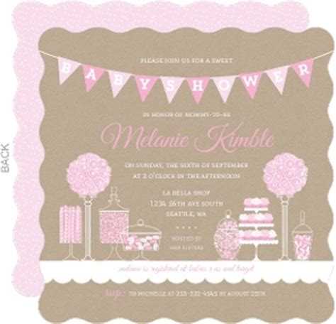 Big Baby Shower Invitations by Baby Shower Invitations