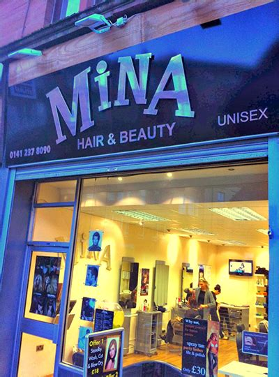hairdresser glasgow byres road mina hair and beauty salon hairdresser glasgow paisley